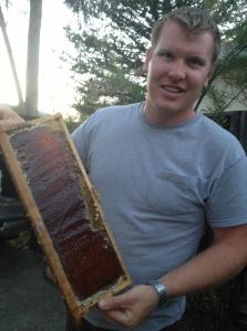 Carson honey frame