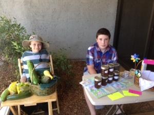 4-H farmers market